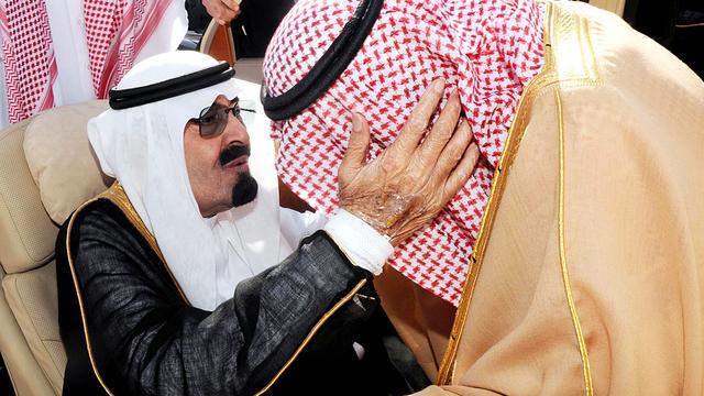 Saudische koning Abdullah weer onder het mes