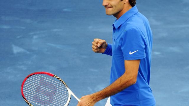 Federer en Berdych naar finale Masterstoernooi Madrid