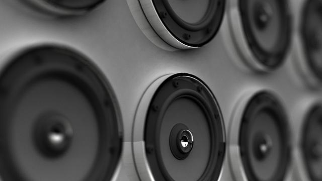 Op papier geprinte luidspreker ontwikkeld