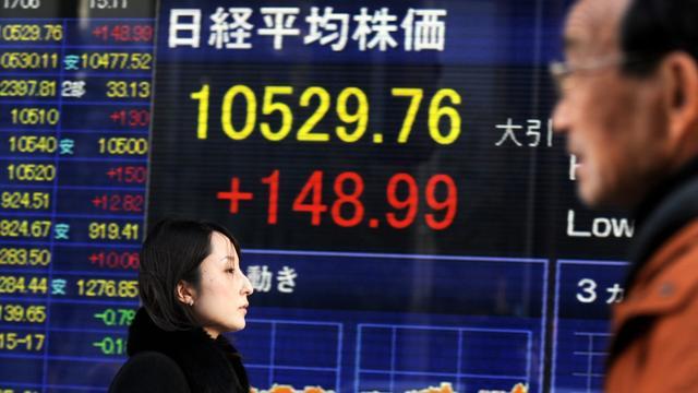 Pessimisme op Japanse beurzen