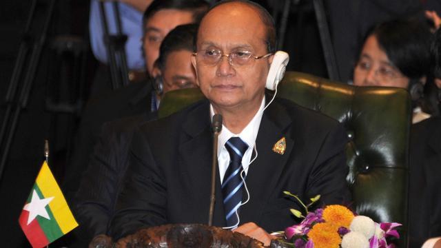 President Myanmar prijst Suu Kyi