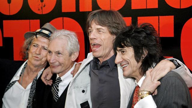 The Rolling Stones delen podium met Lady Gaga