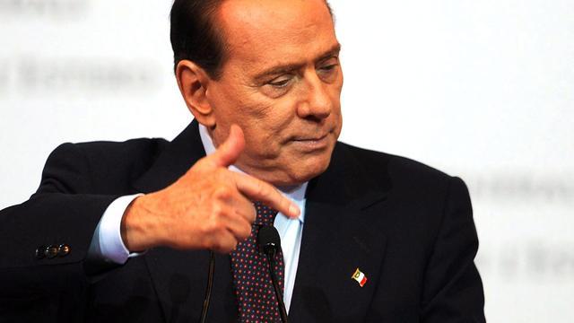 Berlusconi als premier-af voor de rechter