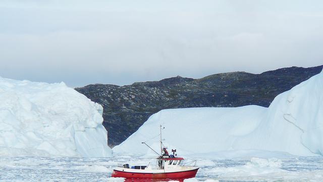 IJskap Noordpool stevent af op record