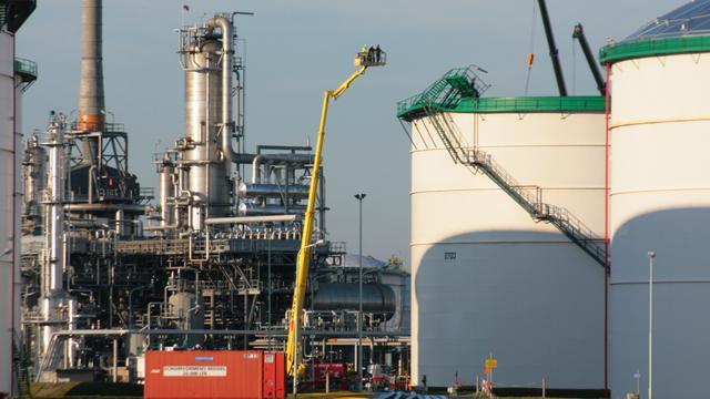 Olieterminal open voor strategische opslag