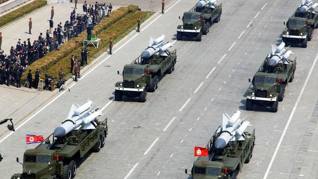 Noord-Korea dreigt VS met wapens