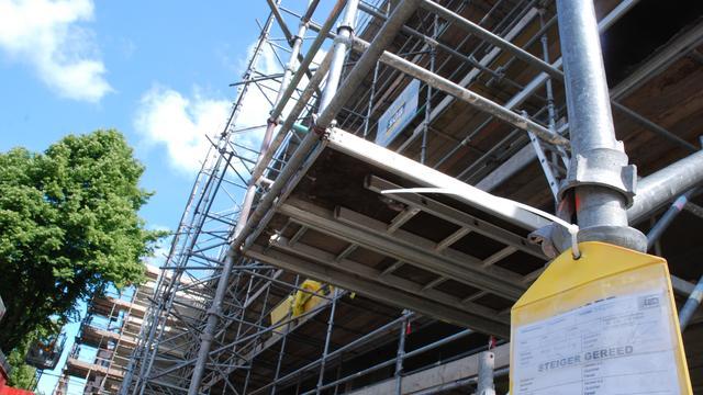 Inspectie controleert steigers en ladders