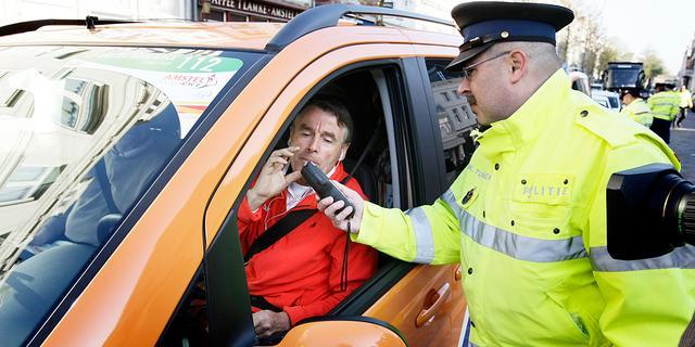 Politie controleert 212 bestuurders op alcohol