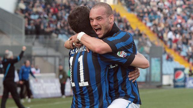 Sneijder eindelijk weer de held van Internazionale