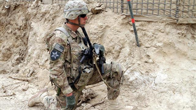 '10.000 Amerikaanse militairen blijven in Afghanistan'