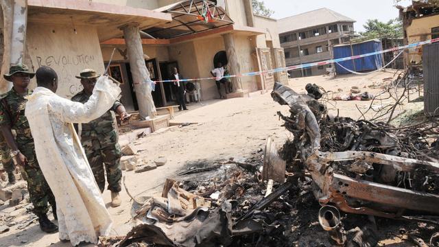Doden bij aanslag kerkdienst in Nigeria