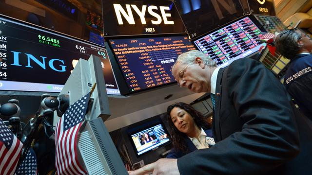 Winst NYSE Euronext daalt