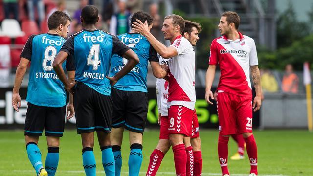 FC Utrecht-spits Gerndt twee duels aan de kant
