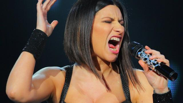 Zangeres Laura Pausini in verwachting