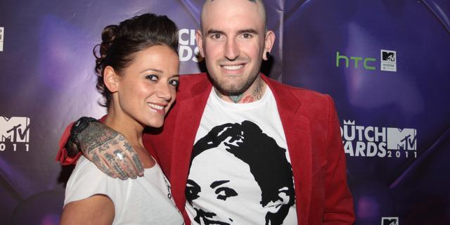 Ben Saunders wint Dutch MTV Award