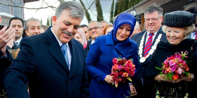 President Turkije sluit staatsbezoek af