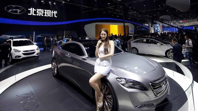 Autoshow Peking is bijzondere beurs