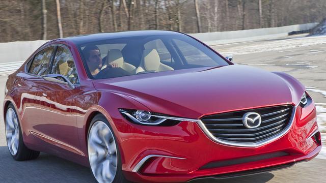 Geen V6 meer in Mazda 6