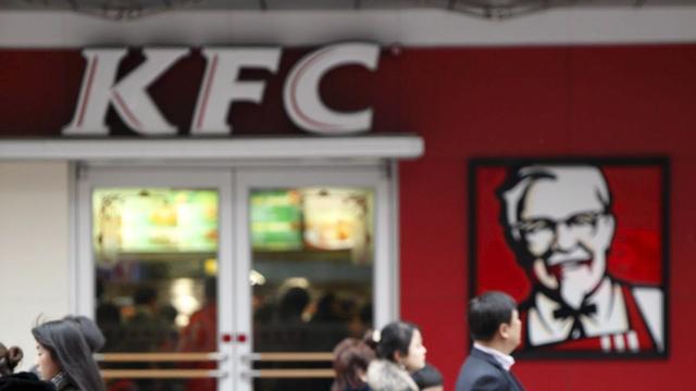 Minder omzet voor moederbedrijf KFC en Pizza Hut