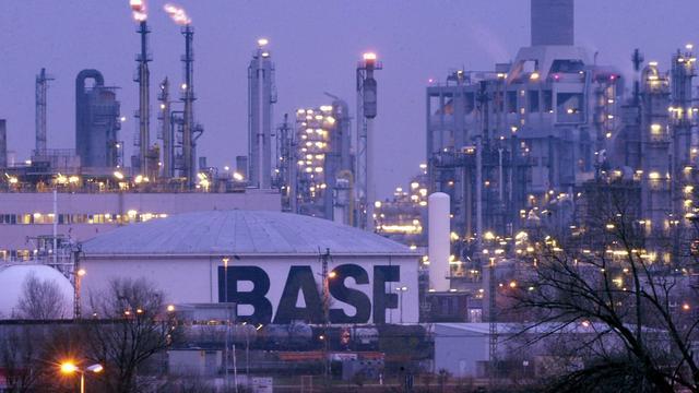 Licht hogere omzet BASF