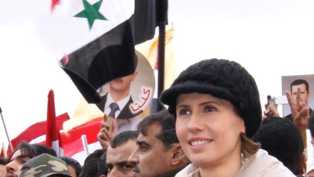 Echtgenote Assad mailt The Times