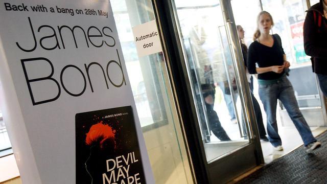 Amazon koopt rechten boeken James Bond