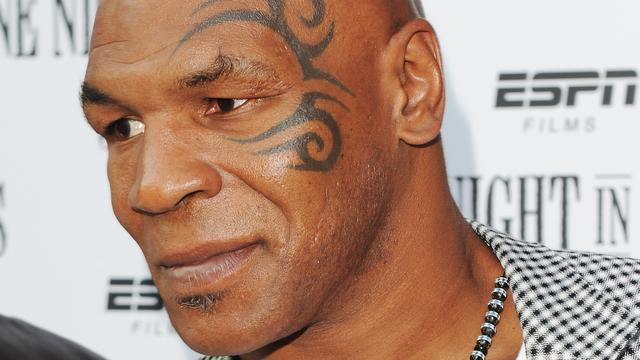 Mike Tyson geïnspireerd door Mussolini