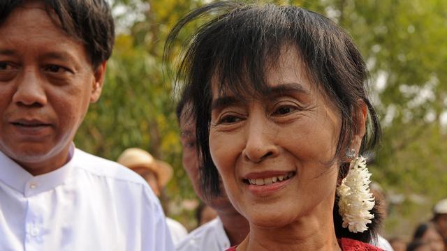 Karen-rebellen ontmoeten Suu Kyi