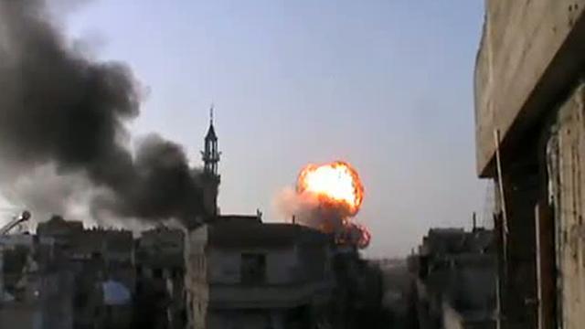 Leger Syrië valt dorpen binnen