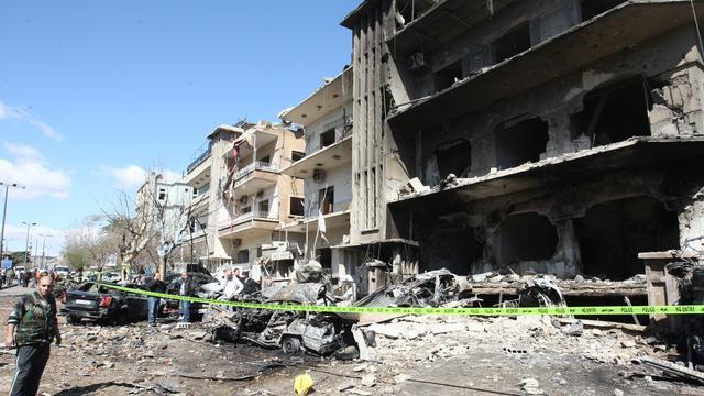 Weer luchtaanvallen op Damascus