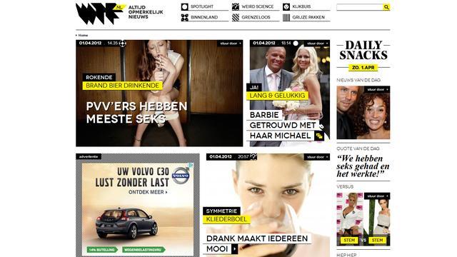Sanoma Media start 'online tabloid'