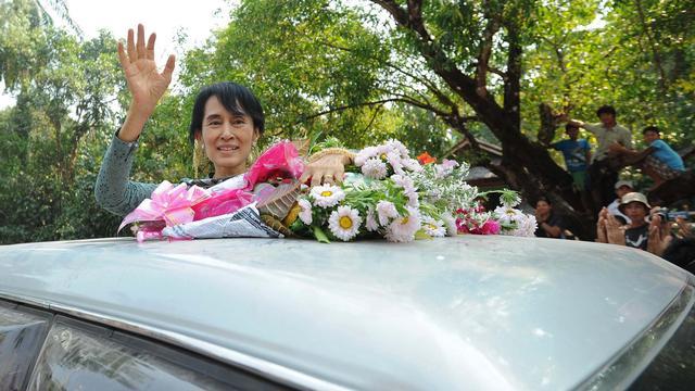 Staatsmedia bevestigen zetel Suu Kyi