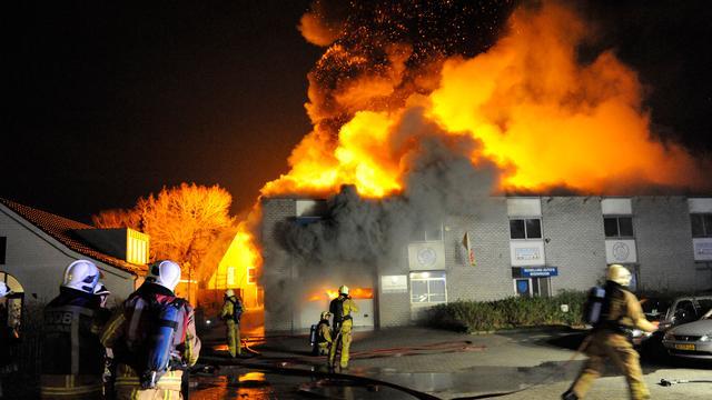 Bewoners Maarn weer thuis na zeer grote brand