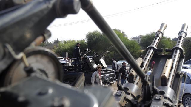 Geweld tussen milities in Tripoli