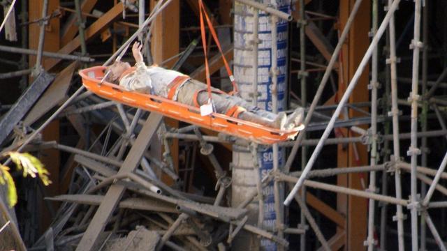 'B-tower Rotterdam ingestort door slecht steigersysteem'