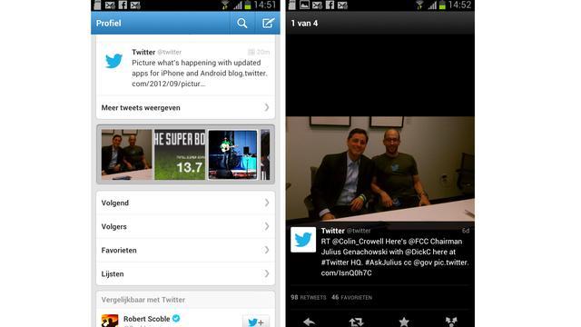 Twitter vernieuwt iPhone-, iPad- en Androidapp
