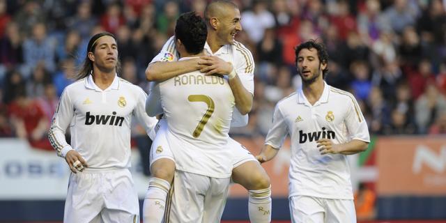 Simpele zeges Real Madrid en FC Barcelona