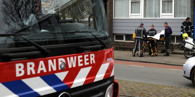 Evacuaties na asbestbrand in Fries dorp
