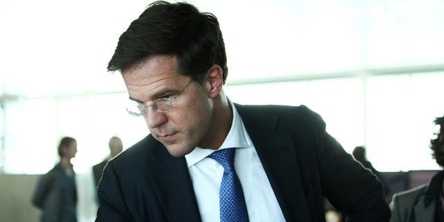 Rutte ziet spanningen over bezuinigingen oplopen
