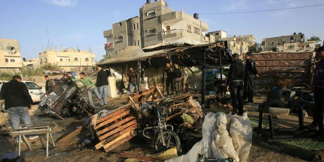 Wapenstilstand Gaza na vier dagen geweld