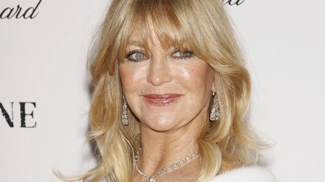 Toch geen comeback voor Goldie Hawn
