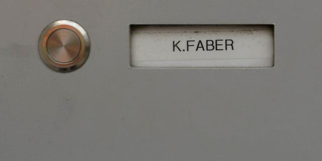 SS'er Faber misschien alsnog cel in