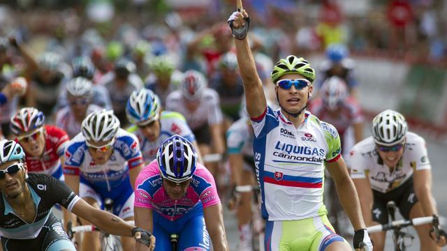 Sprintzege Sagan in Tirreno, leiderstrui voor Nibali