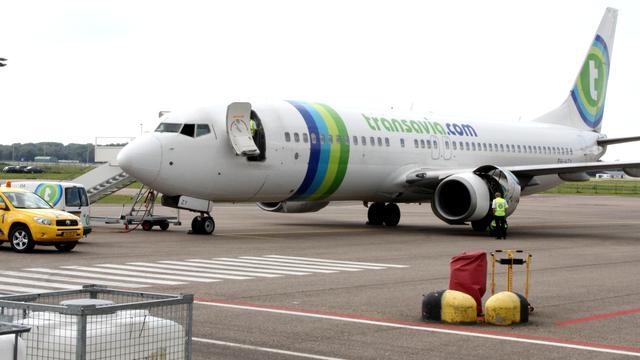 Vliegtuig Transavia was niet in nood toen het wilde landen in Eindhoven