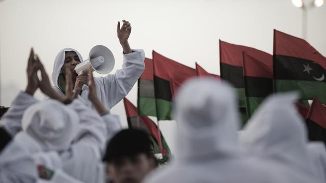 'Eenheid Libië met geweld verdedigen'