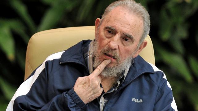 Fidel Castro woest om dood Kaddafi