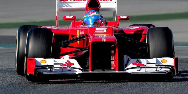Alonso houdt vertrouwen in nieuwe Ferrari