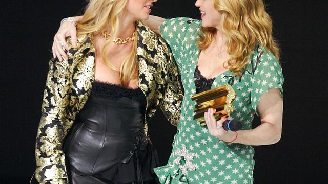 Madonna wil weer met Britney Spears zoenen