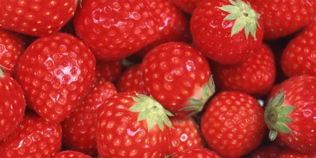 'Aardbeien verkleinen risico op hartaanval'