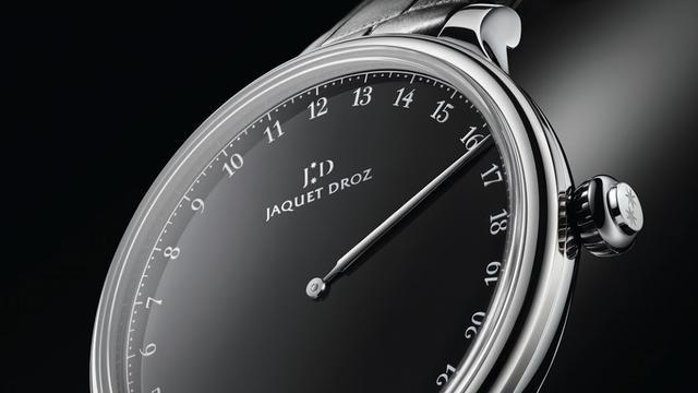 Jaquet Droz lanceert horloge met één wijzer